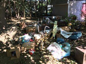 yard trash waste
